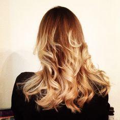 Ombré Hair by Kaley @thebeautyparlour