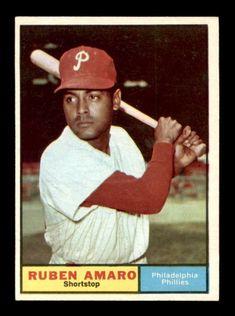 1961 Topps #103 Ruben Amaro NM/NM+ X995015 #PhiladelphiaPhillies