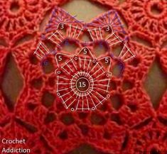 Красивый топ крючком. Летний женский красный топ | Вязание для всей семьи