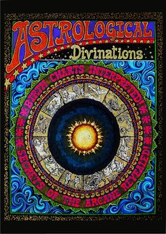 Astrological Divinations - Gypsy Circus 5x7 Blank Greeting Card