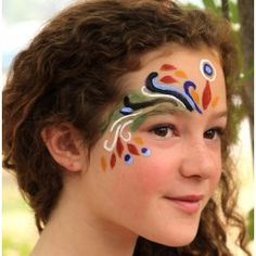 Organic Face Painting Kit contains the safest ingredients on the planet! Made with shea butter, castor oil, and natural clay pigments. $11.95