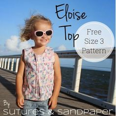 Sutures & Sandpaper: Eloise Top - Free Pattern and Tutorial