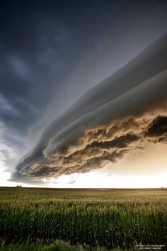 cool cloud formation...