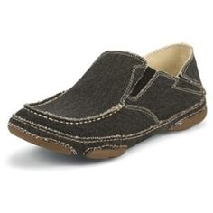 4b51b69dbdc Comfort and style go hand in hand with these shoes! Coal Black Canvas Slip-