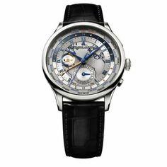 http://www.horloger-paris.com/fr/3974-maurice-lacroix-masterpiece   Maurice Lacroix Masterpiece Worldtimer - Automatique - Acier - 42 mm - 50 m ...