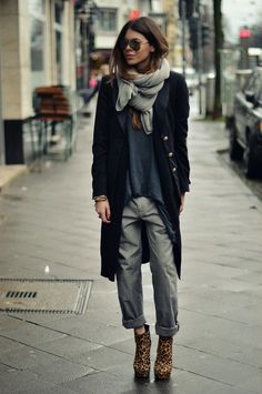 Fall look without those boots