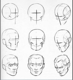 Anatomy Drawing Tutorial anatomical drawings of heads Human Figure Drawing, Figure Drawing Reference, Anatomy Reference, Pose Reference, Anatomy Sketches, Anatomy Art, Art Sketches, Facial Anatomy, Head Anatomy