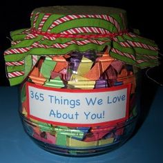 365 things we love about you- Great Fathers Day gift or Christmas!