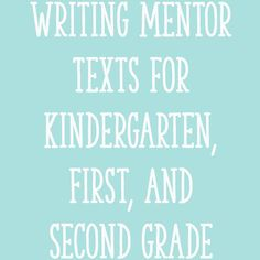 In today's post, I'll share a list of outstanding writing mentor texts, grouped by genre. I'll also share five important tips for using mentor texts to teach writing in the primary grades, so be sure to read to the end of the post!