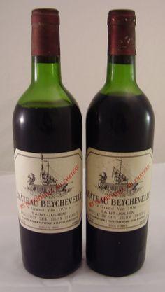 WeinCash - 1976 Chateau Beychevelle, St. Julien, Bordeaux