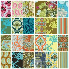 BELLE by Amy Butler for Rowan Fabrics - Fat Quarter Bundle - Complete Collection