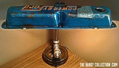 DIY Tutorial: Make an incredible valve cover lamp with these simple steps - no welding required!