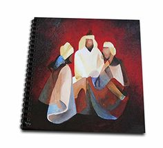 Taiche - Acrylic Painting - Christmas - We Three Kings The Magi also referred to as the Wise Men, Kings, or Kings from the East - Memory Book 12 x 12 inch (db_128455_2) >>> Read more at the image link.