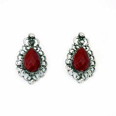 4fd2788f397 Encontre Brincos Pequeno Pedras Vermelhas No Nix Loja Coisas E Tal no Mercado  Livre Brasil. Descubra a melhor forma de comprar online.