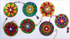 Very crafty way to re-use those old CD's