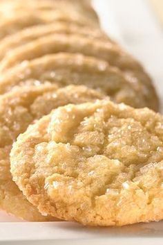 Self-Rising Crunchy Sugar Cookies Recipe from King Arthur Flour. These cookies are delectably light and crunchy, thanks to the mellow protein level of our self-rising flour.