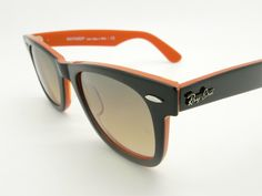 Ray Ban Wayfarer Black/Orange