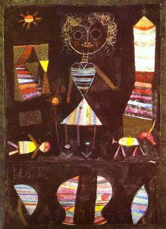Paul Klee, Puppet Theatre, 1923