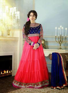 Latest Arrival Juhi Chawla Floor Length Anarkali Suits   Fashion with Me