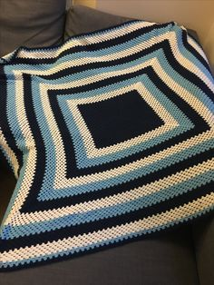 Boy's granny blanket