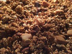 Gold&Blech: Marzipan-Granola  –  Advent, Advent, ein Lichtlein...