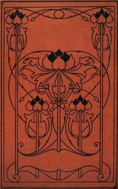 Una mezcla de motivos florales y geométricos. This would make a fun journal cover.