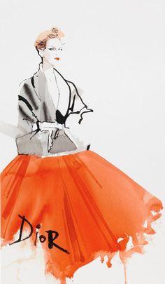 David Downton for Dior