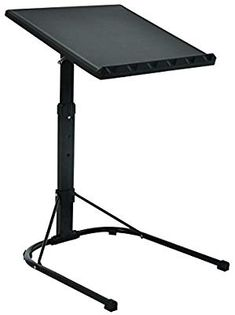 Folding Laptop Table Black With Adjustable Height and Tilt Angle Portable Gaming Computer Desk Tablet Stand Tray Bedside Sofa Armchair Crafting Jigsaw Computer Stand For Desk, Gaming Computer Desk, Tilt Angle, Adjustable Height Table, Laptop Table, Tablet Stand, Picnic Table, Drafting Desk, Bedside