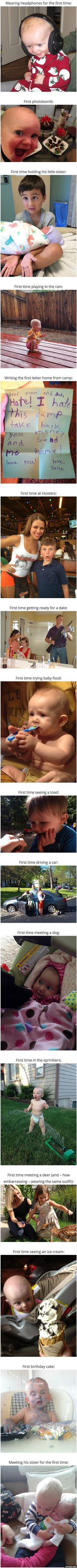 16 Kids Doing Stuff For The First Time http://ibeebz.com