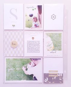 Spring Layout And The Pop Of Colors | Sahin Designs | Pocket Scrapbooking
