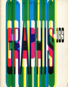 Gerard Miedinger, cover for Graphis, 1977