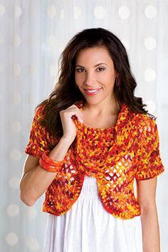 Firecracker Top - free crochet pattern