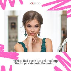 Vrei sa faci parte din cel mai bun studio pe categoria Freemium?  Vrei sa castigi si tu miide dolari pe luna?  Suna-ne la 📞📲𝟎𝟕𝟓𝟖 𝟗𝟖𝟖 𝟗𝟗𝟗 sau lasa-ne un mesaj pe Whatsapp si te sunam noi 💻⌨️ www.okstudio.ro Mai, Studio, Model, Models, Study, Modeling, Mockup