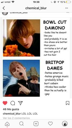britpop but i love grunge lmfao Damon Albarn Young, Music Is Life, My Music, Blur Band, Blurred Lights, All Bran, Johnny Marr, Hottest Guy Ever, Band Nerd