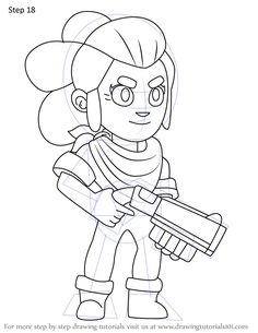 Brawl Stars Ausmalbilder | Star coloring pages, Coloring ...