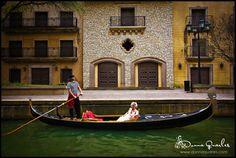 Gondola cruises by Gondola Adventures in Irving, Texas.  Romantic gondolas and gondola ride on the lake
