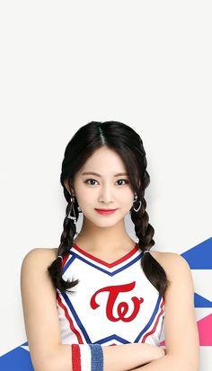 TWICE公式ゲームアプリTWICE -GO! GO!Fightin' (wallpaper) Kpop Girl Groups, Korean Girl Groups, Kpop Girls, Twice Jyp, Tzuyu Twice, J Pop, Pretty Asian, Beautiful Asian Girls, Korean Beauty