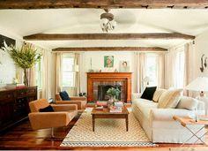 Una hermosa casa de campo estilo escandinavo en el campo americano. Simple, clásico, moderno, elegante y alcanzables. En una palabra hogar...