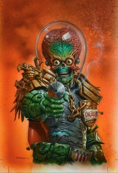 You Missed That Issue?! Mars Attacks Judge Dredd #1 - Entertainment Fuse