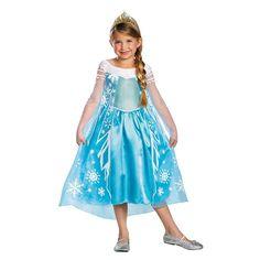 Frozen Girls' Elsa Deluxe Costume