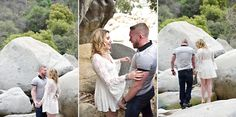 engagement photography in sequoia national park