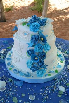 My daughters wedding cake..