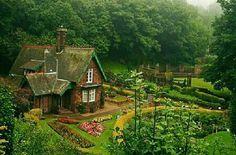 Princess Street Gardens in Scotland