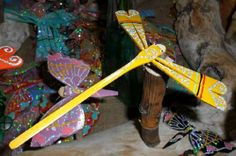 Foto di Vivastreet.it Libellule oscillanti in canna di bambolo portafortuna Products, Dragonflies, Gadget