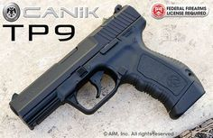 Canik55 TP-9 9mm Handgun Black. Apparently these are supposed give glock a run for their money!