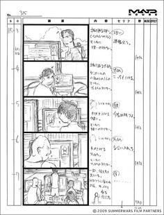 WEBアニメスタイル | 【artwork】『サマーウォーズ』第12回 絵コンテ2《シリアス編》