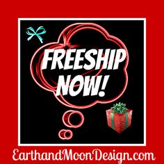 Enter Code: Freeship, now until Dec 15th, when you buy a handmade, one-of-a-kind necklace from: http://earthandmoondesign.com/ And have a gift for yourself or another arrive in time for the holiday.