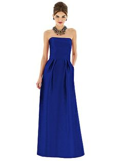 Alfred Sung Style D615 http://www.dessy.com/dresses/bridesmaid/d615/