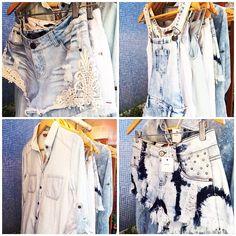 Muitas peças em jeans chambray em diversas texturas compõem o verão jovem da Blue Steel!