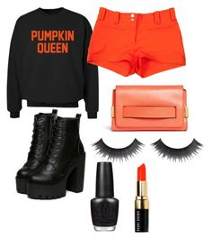 """""""halloween outfit"""" by nanupacu on Polyvore featuring moda, CO, Versace, Chloé, OPI y Bobbi Brown Cosmetics"""